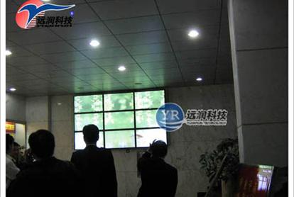 湛江海事局大堂信息公示系统
